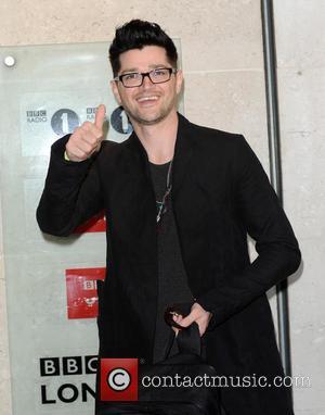 Danny O'Donoghue - Celebrities at BBC Radio 1 - London, United Kingdom - Tuesday 2nd September 2014