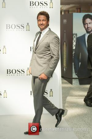 Gerard Butler - Gerard Butler is unveiled as the new face of Boss Bottled at Westfield White City. - London,...