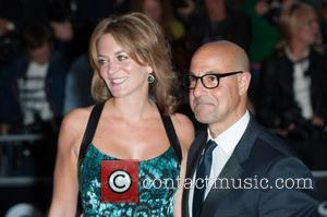 Stanley Tucci and Felicity Blunt - GQ Men of the Year Awards held at the Royal Opera House - Arrivals....