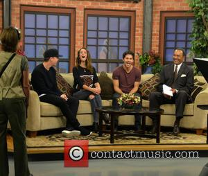 Will Poulter, Kaya Scodelario, Dylan O'Brien and Eukie Washington - Dylan O'Brien, Will Poulter and Kaya Scodelario Maze Runner Press...