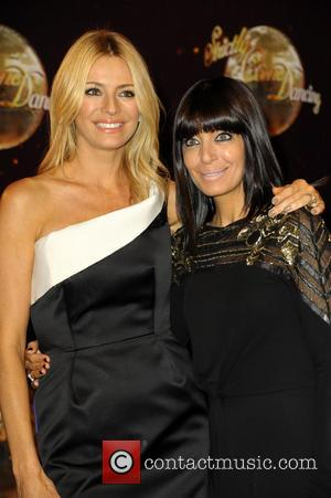 Tess Daly and Claudia Winkleman - 'Strictly Come Dancing' launch at Elstree Studios - Arrivals - London, United Kingdom -...