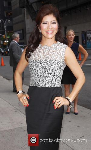 Julie Chan - Celebrities arrive at the Ed Sullivan Theater for 'The Late Show with David Letterman' - New York...