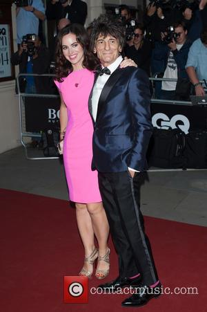 Ronnie Wood , Sally Humphreys - GQ Men of the Year Awards held at the Royal Opera House - Arrivals...