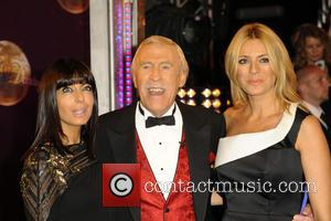 Claudia Winkleman, Bruce Forsyth and Tess Daly at the 'Strictly Come Dancing' launch held at Elstree Studios, London, United Kingdom...