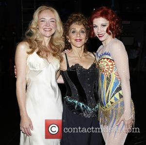 Rachel Bay Jones, Andrea Martin and Charlotte D'amboise