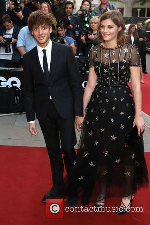 Paolo Nutini and Amber Anderson - The GQ Awards 2014 held at the Royal Opera House - Arrivals - London,...