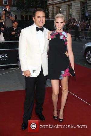 David Walliams and Lara Stone - The GQ Awards 2014 held at the Royal Opera House - Arrivals - London,...