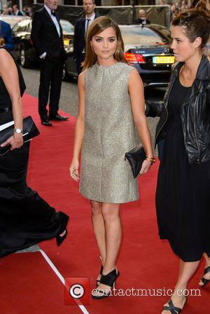 Jenna Coleman - GQ Men of the Year Awards 2014 - Arrivals - London, United Kingdom - Tuesday 2nd September...