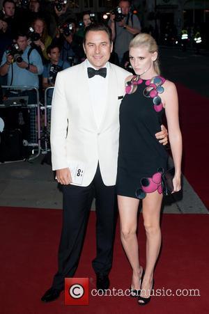 David Walliams and Lara Stone - GQ Men of the Year Awards held at the Royal Opera House - Arrivals...