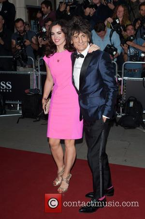 Ronnie Wood and Sally Humphreys - GQ Men of the Year Awards held at the Royal Opera House - Arrivals...