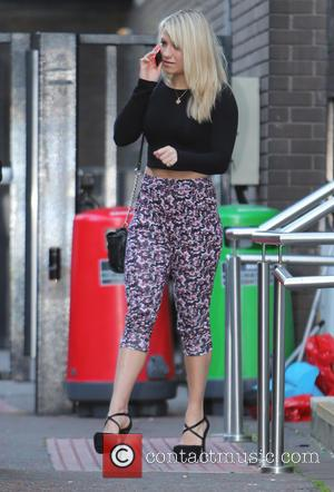 Chloe Madeley - English TV presenter, model and daughter of TV presenters Richard and Judy, Chloe Madeley outside the ITV...