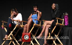 Meagan Good, Tichina Arnold and Brandy Norwood - The Hollywood Confidential Open Forum 'Staying Power: Building Legacy & Longevity in...