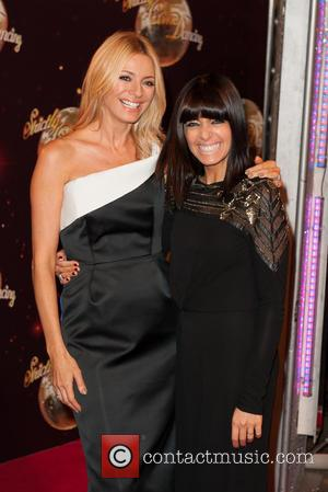 Tess Daly and Claudia Winkleman - 'Strictly Come Dancing 2014' launch at Elstree Studios - Arrivals - London, United Kingdom...