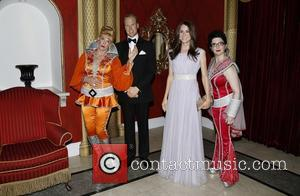 Stacia Fernandez, Prince William Wax Figure, Lauren Cohn and Kate Middleton Wax Figure
