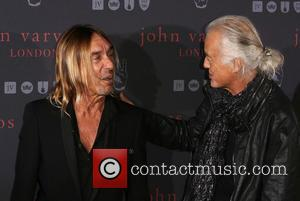 Iggy Pop and Jimmy Page