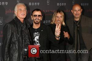 Iggy Pop, Jimmy Page, Ringo Star and John Varvatos