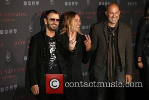 Iggy Pop, Ringo Star and John Varvatos
