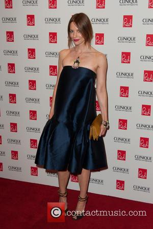 Sienna Guillory - Red Woman of the Year 2014 ceremony - Arrivals - London, United Kingdom - Wednesday 3rd September...