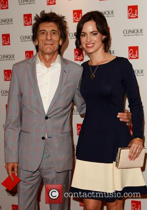 Ronnie Wood's Twin Girls Are 'Wonderful'