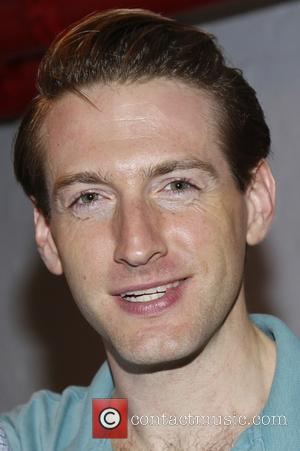 Fran Kranz - Backstage at  Broadway's You Can't Take It With You at the Longacre Theatre. - New York...