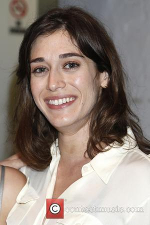 Lizzy Caplan - Backstage at  Broadway's You Can't Take It With You at the Longacre Theatre. - New York...