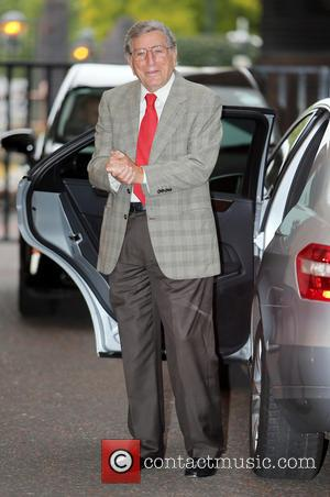 Tony Bennett - Tony Bennett outside the ITV studios - London, United Kingdom - Wednesday 3rd September 2014