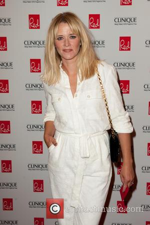 Edith Bowman - Red Woman of the Year 2014 ceremony in association with Clinique at the Ham Yard Hotel in...