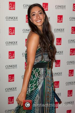 Oona Chaplin - Red Woman of the Year 2014 ceremony in association with Clinique at the Ham Yard Hotel in...