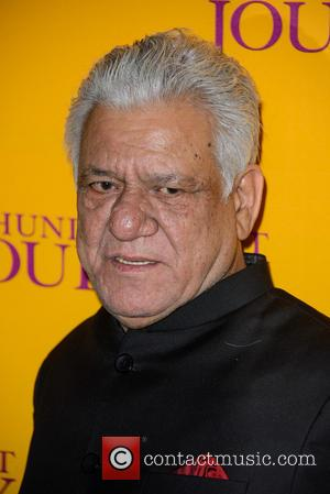 Om Puri - U.K. gala screening of 'The Hundred-Foot Journey' held at the Curzon Mayfair Cinema - Inside - London,...