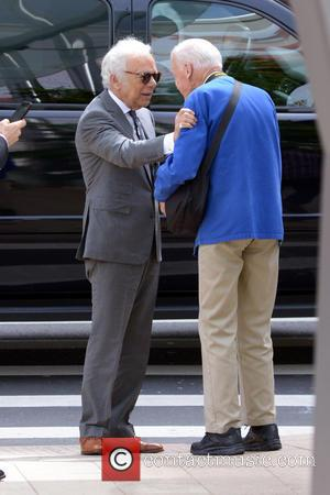Ralph Lauren and Bill Cunningham
