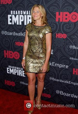 Edie Falco - Ahead of the premier for the fifth and final series of HBO's 'Boardwalk Empire' at the Ziegfeld...