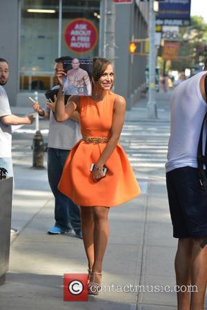 Karina Smirnoff - The cast of Dancing with the Stars season 19 in New York City - Manhattan, New York,...