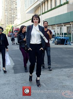 Coco Rocha - Mercedes Benz New York Fashion Week - Celebrity Sightings - New York City, New York, United States...