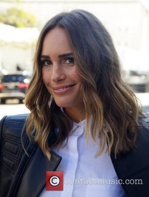 Louise Roe - Mercedes Benz New York Fashion Week Celebrities sightings at Lincoln Center in New York City Outside Arrivals...