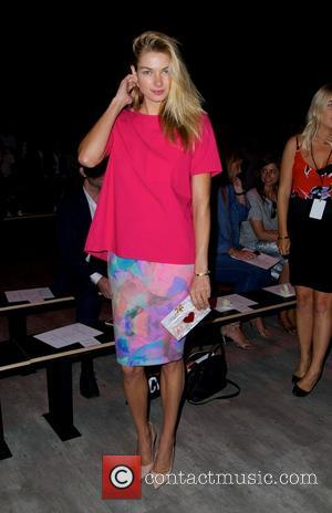 Jessica Hart - Mercedes-Benz Fashion Week Fall 2015 - Tome Fashion Show at Lincoln Center in New York City -...