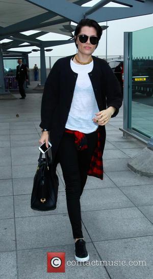 Jessie J - Jessie J leaves Heathrow airport bound for Johannesburg where she will play the i love Joburg Festival...