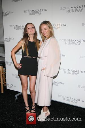 Emily Meade and Lubov Azria