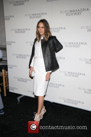 Louise Roe - Mercedes-Benz New York Fashion Week - BCBGMAXAZRIA - Arrivals - New York, New York, United States -...