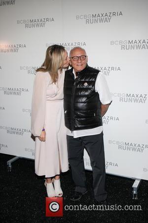 Lubov Azria and Max Azria