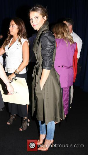 Keri Russell - Mercedes-Benz Fashion New York Week Spring 2015 - Altuzarra for Target - Backstage - New York, United...
