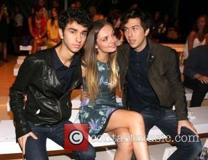 Alex Wolff, Emily Meade and Nat Wolff