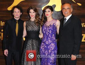 Anton Yelchin, Ashley Greene, Alexandra Daddario and Stefano Barbera - 71st Venice International Film Festival - 'Burying The Ex' -...