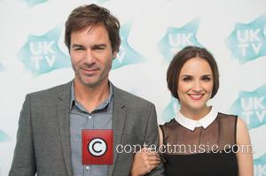 Eric McCormack and  Rachael Leigh Cook - At the UKTV Live Showcase, various celebrities were photographed on the Red Carpet...