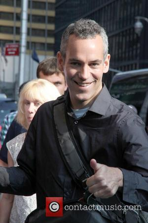 Moody McCarthy - Ahead of film 'The Late Show with David Letterman', celebrates were photographed arriving at the Ed Sullivan...