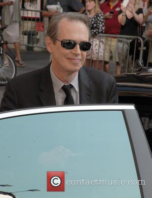 Steve Buscemi - Ahead of film 'The Late Show with David Letterman', celebrates were photographed arriving at the Ed Sullivan...