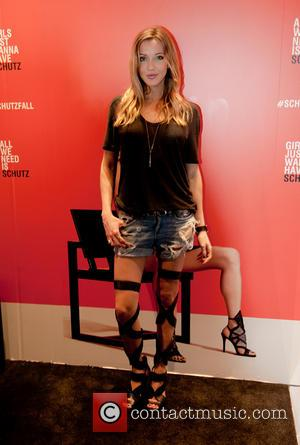 Katie Cassidy - Alessandra Ambrosio hosted the New York Fashion Week event at Schutz, New York City, and many photographs...