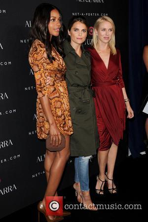 Naomie Harris, Keri Russel and Naomi Watts