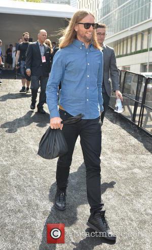 James Valentine - Mercedes-Benz New York Fashion Week Spring 2015 - Day 2 - Celebrity Sightings - New York City,...