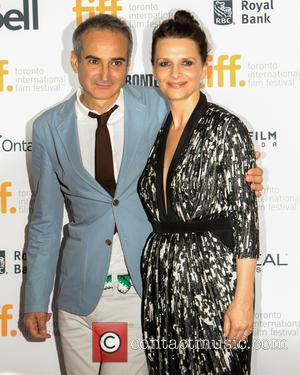 Juliette Binoche and Olivier Assayas