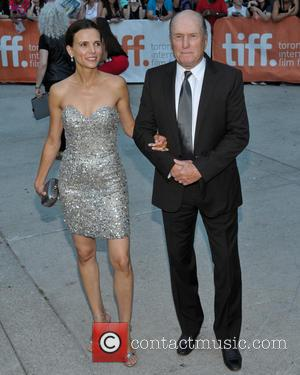 Robert Duval and His Wife Luciana Pedraza